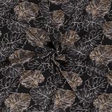 Polyester Planten Zwart_