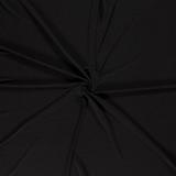 Effen Jersey Folie Zwart_
