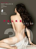 Falke Panty Matt Deluxe 30 Black S_