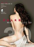 Falke Panty Matt Deluxe 30 Black M_