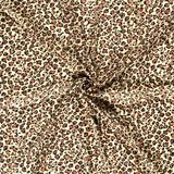 Chiffon - Luipaarden - Lichtgeel_
