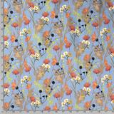 Bengaline - Bloemen - Blauw_