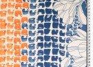 Jersey - Print all over - Blauw Oranje_