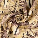 Linnen - Leaves - Beige_