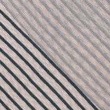 Gebreid - Groene streep - Ecru_