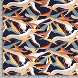 Crepe - Abstract - Navy_