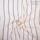 Tetra - Red Stripes - Ecru_
