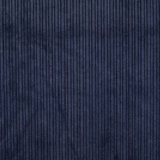 Ribfluweel - Uni - Donkerblauw_