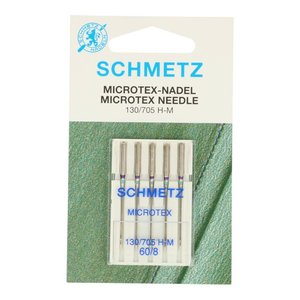 Schmetz Microtex 5 naalden dikte 60