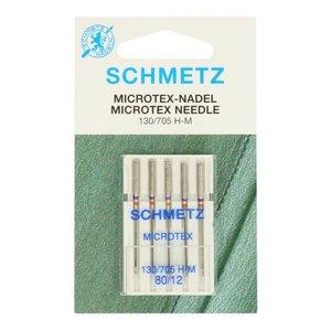 Schmetz Microtex 5 naalden dikte 80