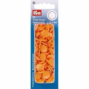 Prym Drukknoop Colorsnaps 12,4 mm Oranje