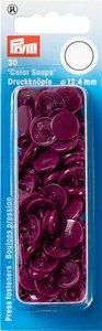 Prym Drukknoop Colorsnaps 12,4 mm Wijnrood