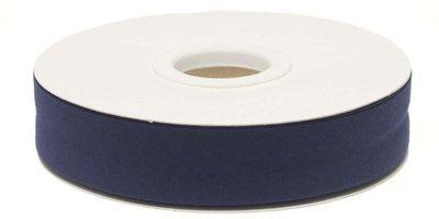Biaisband 20mm Donkerblauw