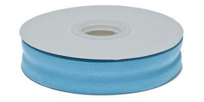 Biaisband 20mm Aqua Blauw