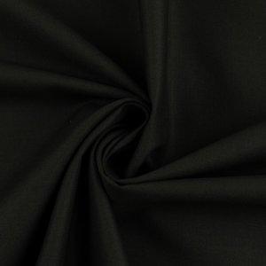 Effen Katoen Zwart