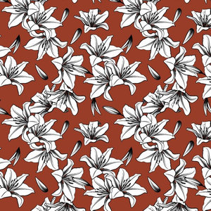 Canvas Lily Roest