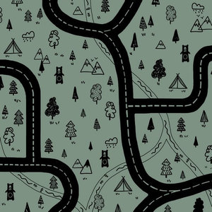 Canvas Adventure Groen