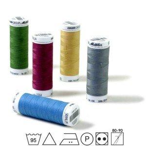 Mettler Seralon nr.100 200m - 0000 - Laat ons het kleur kiezen