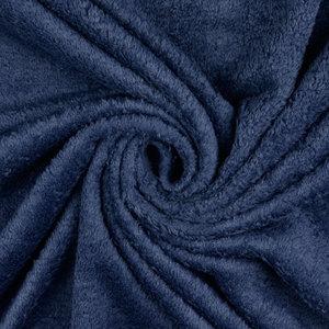 Badstof - Uni - Donkerblauw