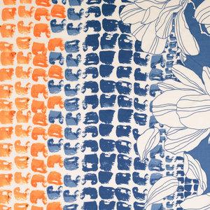 Jersey - Print all over - Blauw Oranje