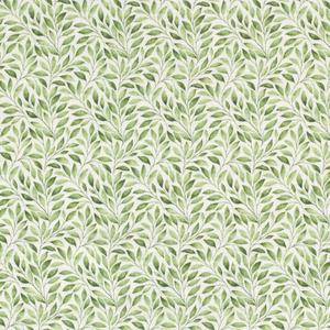 Tetra - Green Leaves - Gebroken Wit