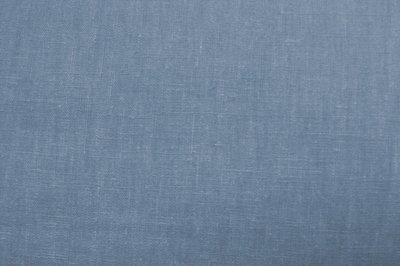Linnen - Uni - Jeansblauw