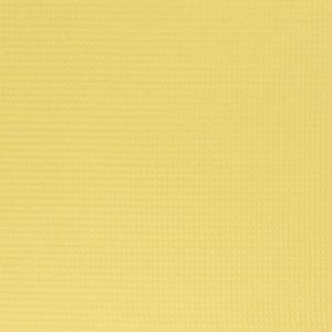 Wafelstof - Uni - Geel