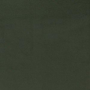 Ribfluweel - Uni - Kaki